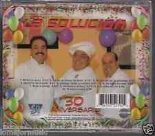 rare SALSA cd ORQUESTA LA SOLUCION 30 ANIVERSARIO Verdadero sonero SABE A MANGO