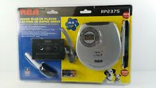 RCA Slim-Design Portable CD Player with Car Kit RP2375  *NEW*.
