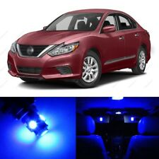 6 x Blue LED Interior Light Package For 2013 - 2017 Nissan Sentra + PRY TOOL