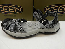 KEEN WOMENS SANDALS BALI STRAP NEUTRAL GREY BLACK SIZE 8.5