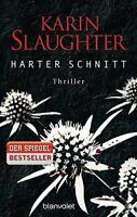 Harter Schnitt (Georgia 5) von Karin Slaughter (Taschenbuch, Mangelexemplar)