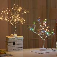 Dekobaum 108 LED Leuchtbaum Lichtbaum Birke Licht Weihnachten Easter