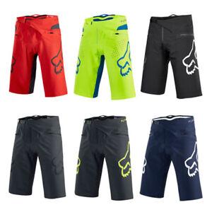 Men's Fox Racing Demo Shorts MTB DH Mountain Bike Swimming Beach Shorts