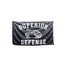 New listing Superior Defense Flag 3x5 Sup Def Not Forward Observations Group Wrmfzy Ferro