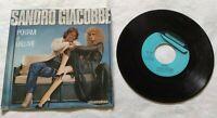 "SANDRO GIACOBBE 7"" PORTAMI A BALLARE 45 RPM ITALY 1984 FONIT CETRA SP1817 NM/NM"