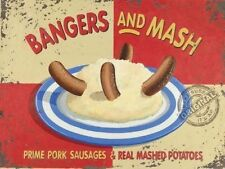 Suono esplosivo e Mash Salsicce Patate Cucina Smash Minuteria Metallica/