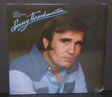 Sonny Throckmorton Last Cheater's Waltz vinyl LP record SEALED cut out