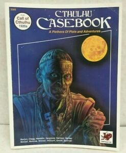 Call of Cthulhu RPG Cthulhu Casebook SC (Chaosium 1990 1st printing)