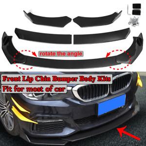 Carbon Fiber Style Front Bumper Lip Spoiler Splitter For BMW F10 F30 F32 F36 F80