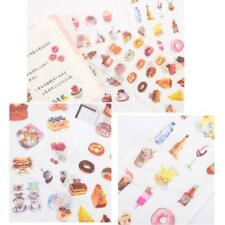 6x Cartoon Dessert Sticker Aufkleber Set Manga Anime Planner Briefpapier beste