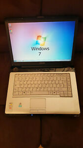 """Toshiba Equium A210-1AS Laptop Notebook 15.4"""" 2GB 160GB Windows 7 Office"""