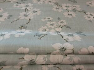 Roman Blind, Laura Ashley Iona Duckegg Floral  Fabric  (Made to measure)