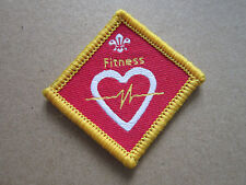 Fitness Challenge Woven Cloth Patch Badge Boy Scouts Scouting