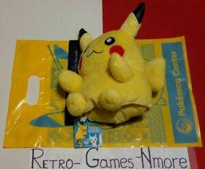 Pokemon Plush Pikachu Puppet Doll 2006 Banpresto AUTHENTIC Japan limtd w tag/bag