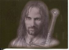 Lord Of The Rings Masterpieces I Bronze Foil Chase Card #1 Aragorn