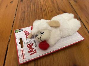 Lamb Chop ~ Cat Toy W/Catnip
