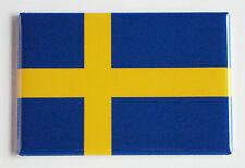 Flag of Sweden FRIDGE MAGNET (2 x 3 inches) swedish
