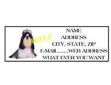 Shih Tzu Address Labels Cool! #1