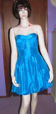 NEW! ROMEO & JULIET COUTURE Lovely Stretch Tafetta Party PROM DRESS S M L $158