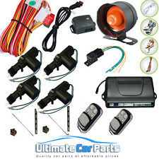 Remote Central Locking Kit And Car Alarm With Immobiliser For 4 Doors