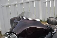 "4"" Harley Davidson Lancer Windshield  Smoke  86-95 Touring Dresser  Electra Glid"
