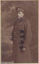 WW1 Guardsman Coldstream Guards in Greatcoat & webbing belt