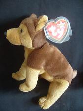 Nuovo con etichette Ty Beanie Baby CORAGGIO-il cane della polizia 9/11