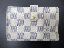 Authentic Louis Vuitton Damier Azur Portefeuille Viennois N61676 Wallet 56511