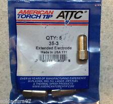 5 Électrodes Plasma Torche Coupe 35-3 America Torche CIFA - Made dans USA