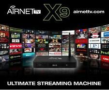 "2017AirNet TV X9 Fastest Streaming Media Box On The Market  ""Air Mouse Keyboard"""
