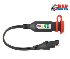 Optimate O-125 SAE Batterie Moto Statut & Charge Système Testeur Câble