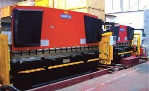 Brand New CARTER 4000mm x 200ton 5 Axis CNC Press Brake