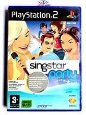 Singstar Party edicion sin micros para Sony PS2 usado completo