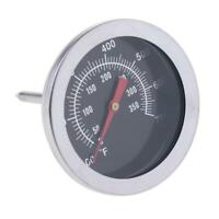 BBQ Smoker Grill Thermometer Edelstahl 50 350 ° C Kochtemperaturanzeige