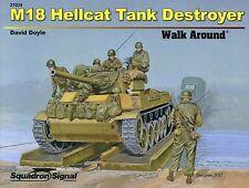 Squadron/Signal Walk Around 27029 - M18 Hellcat Tank Destroyer - NEW