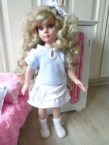 """Skirt and Blouse Set + Shoes Fits18"""" Vinyl Slim Dolls and American Girl Dolls"""