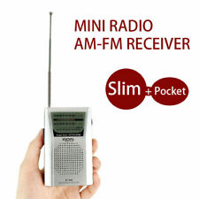 AM/FM Receiver Built in Speaker Good Quality Universal Portable Pocket Radio