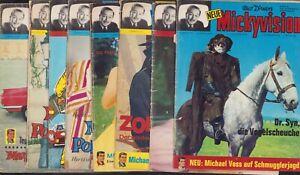 Mickyvision (Ehapa, 1962-1977,1.Serie) Nr.19-26 (1965)  komplett