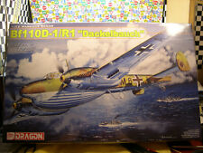 WWII GERMAN Bf110D-1/R1 DACKELBAUCH DRAGON 1:32 SCALE PLASTIC MODEL AIRPLANE KIT