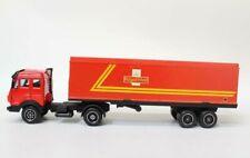 Verem Mercedes Truck + Box Trailer ROYAL MAIL Scale 1/64 ?  Diecast Model O1