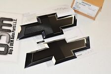 2015 Chevrolet Colorado Front Grille Emblem Black Bowtie Accessory Kit new OEM