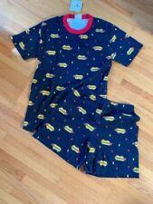 Small M Unisex Andersson Organic Short Johns Pajamas Hot Doggy