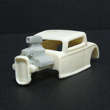 JF HO Scale '32 Ford 3 Window Resin Slot Car Body For Tomy Mega G 1.7  #32