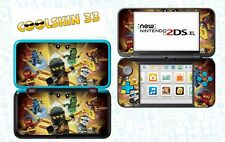 LEGO NINJAGO  - Vinyl Skin for Nintendo NEW 2DS XL (with C Stick) - réf 205