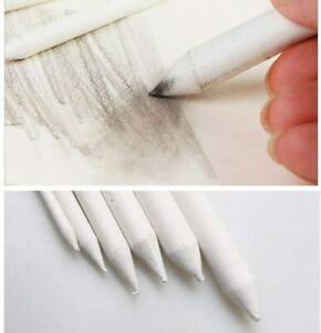 6 Pcs Blending Smudge Stump Pen Stick Tortillions Sketch Art Drawing Pen
