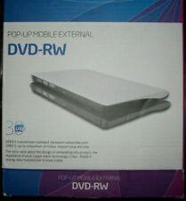 Pop-Up Mobile External CD NIB DVD-RW Hard Disk Drive NIB NEW IN BOX