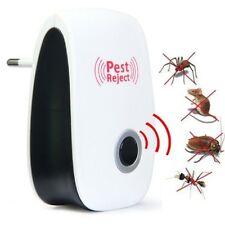 Anti Moustique Insecte Souris Rongeur Mouche Nuisible Repulsif Ultrasons 120m2,~