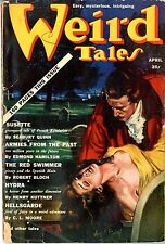 "Weird Tales  #33  Vol 4  1939  VG  Vergil Finlay coverLovecraft, Mc""Clusky, Quin"