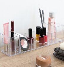 Organizador de maquillaje y cosmeticos 30 x 8 x 8 cm, 8 compartimentos, belleza