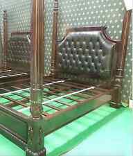 Designer luxury Chatelet® Four Poster Bed Handmade fr mahogany wood
